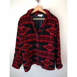 Southwest/Aztec beaded jacket